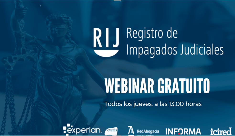 Webinar gratuito Registro de Impagados Judiciales